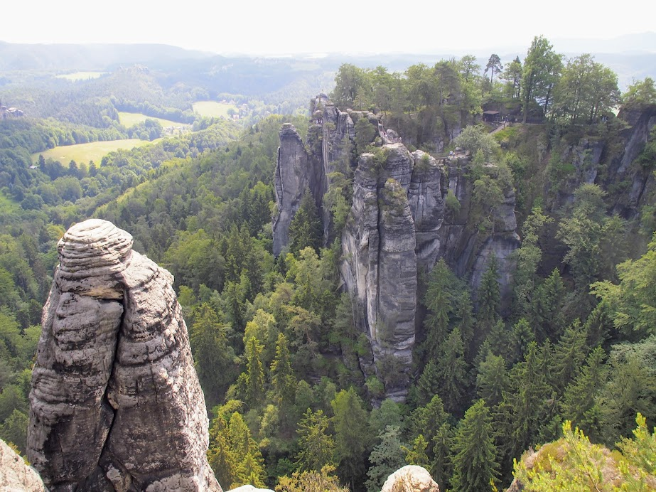 Another vantage point from Bastei.