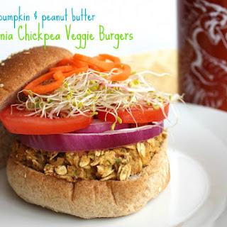 California Chickpea Veggie Burgers