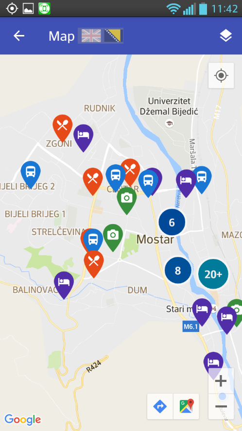 Mostar City Guide- screenshot