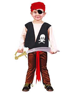 Piratdräkt, barn