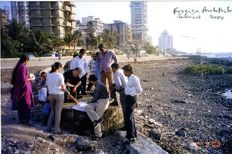 Photo: 2000 - Architects at work at Promenade