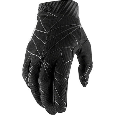 100% Men's Ridefit Full Finger Gloves