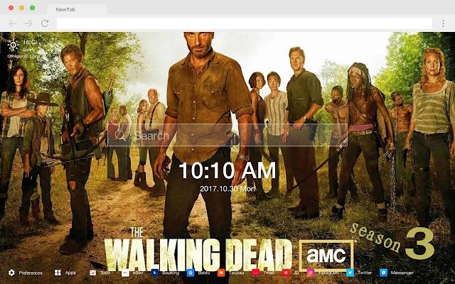 The Walking Dead Movies New Tab HD Themes