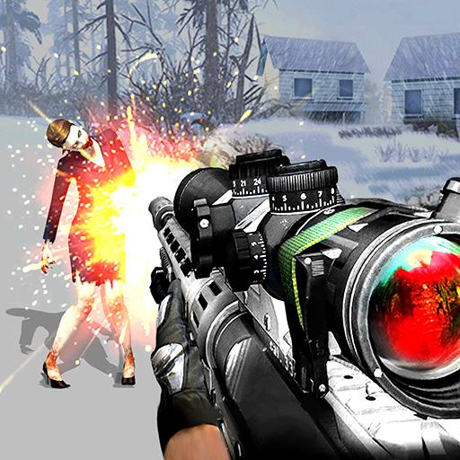 殭屍地獄2 - FPS殭屍射擊遊戲 動作 LOGO-玩APPs