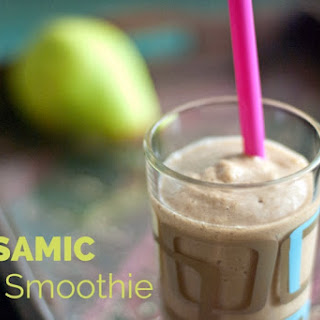 Balsamic Pear Smoothie.