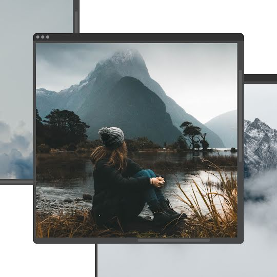 Misty Morning Window - Instagram Post Template