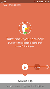 Privacy Browser screenshot 1