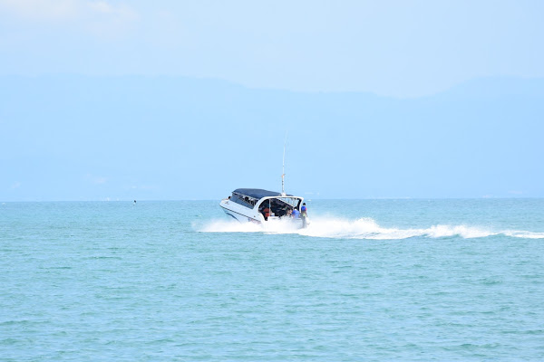 Cruise by speed boat to Angthong Marine Park