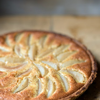 Pear and Almond Tart.