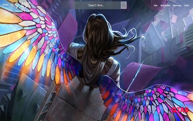 Angel Wallpapers HD Theme