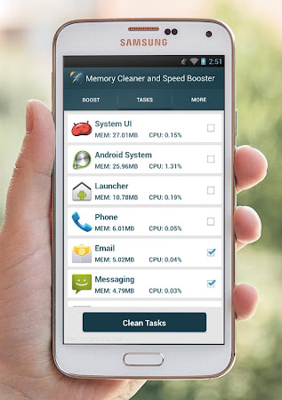 Memory Cleaner & Speed Booster 2.2 screenshot 76334