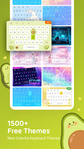 Facemoji Keyboard Pro: DIY Themes, Emojis, Fonts 2.6.0.3 screenshots 4