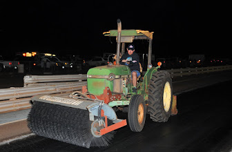 Photo: Mark Caires' least favorite track activity...
