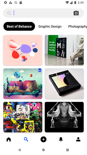 Behance: Photography, Graphic Design, Illustration screenshots 2