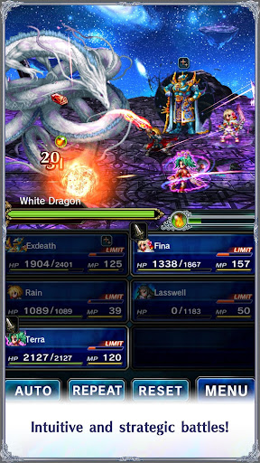 FINAL FANTASY BRAVE EXVIUS screenshot 2