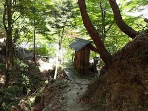 三岳寺が見えてきた