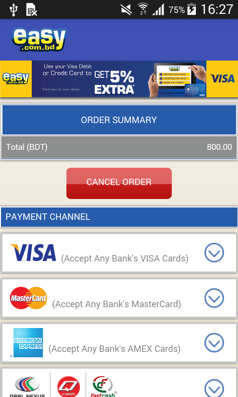 Easy.com.bd Recharge & Payment- screenshot