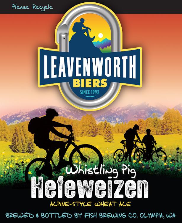 Logo of Leavenworth Whistling Pig Hefeweizen
