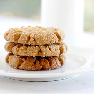 Coconut Oil Peanut Butter Cookies.