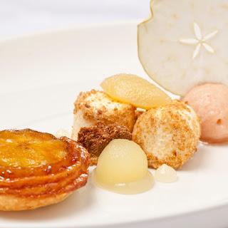 Orchard Apples Tarte Tatin, Sorbet and Parfait Recipe