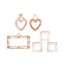 Tonic Studios Essentials Stamp Sets - Initial Frame 1692E