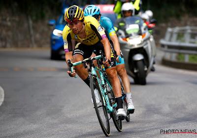 """Ondanks torenhoge favorietenstatus voor de Giro... """"Ik kwam om te winnen, maar superblij met het podium"""""""