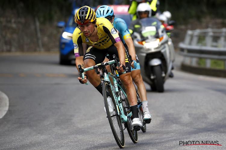 """Grote verliezer Primoz Roglic reageert na 16e etappe, ploegleider strijdvaardig: """"De Giro is nog niet gedaan"""""""