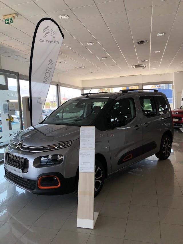 top ventas Nueva Berlingo en Ejido Motor, polivalente, práctico y espacioso.