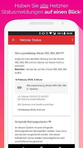 Hetzner Cloud Mobile screenshot 3