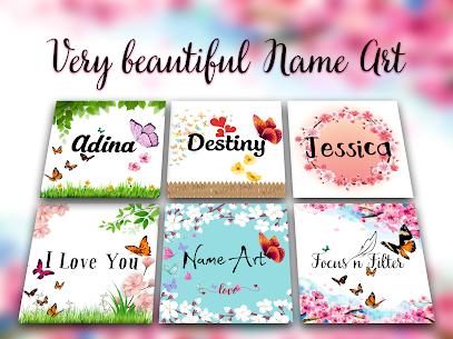 Name Art – Focus n Filter 1