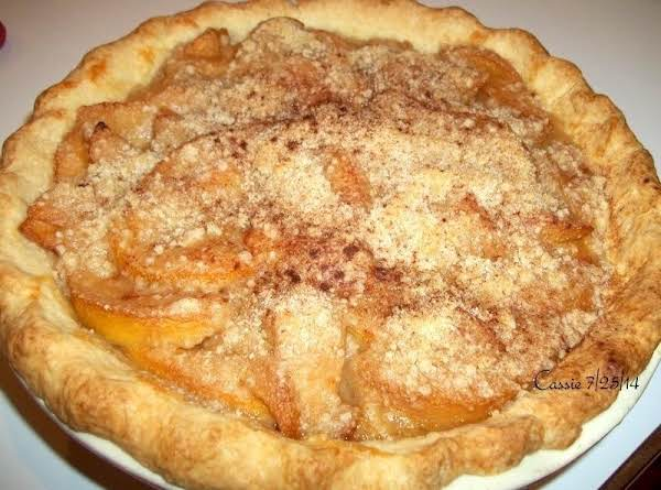Pat's Peach Pie Crumble