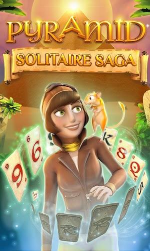 17 Pyramid Solitaire Saga App screenshot