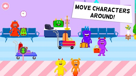 My Chompy Town - My Airport Games for Kids APK screenshot thumbnail 3