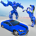 Robot Transform Game: Car Game icon