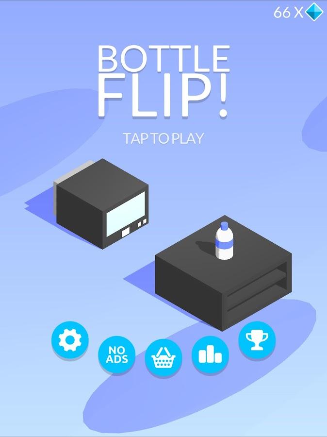 Screenshots of Bottle Flip! for iPhone