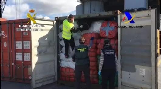 Intervenidas 52.000 prendas falsificadas en el Puerto valoradas en 4,5 millones