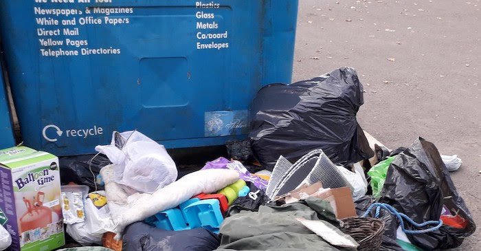 Abermule man fined £200 for dumping rubbish in Newtown