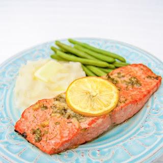 Baked Salmon with Garlic and Dijon Recipe