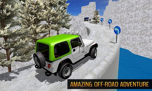 Offroad Jeep Mountain Hill Climb Driving 3D - náhled