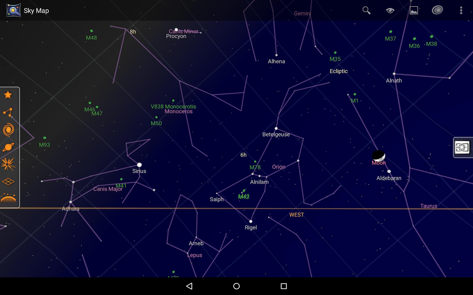Sky Map screenshot #7