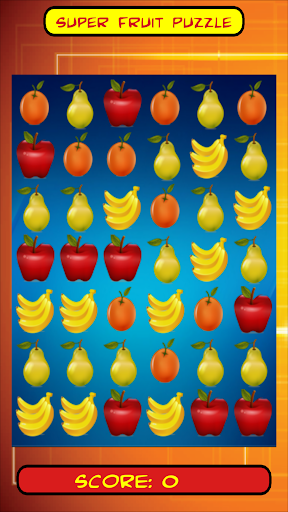 Super Fruit Puzzle