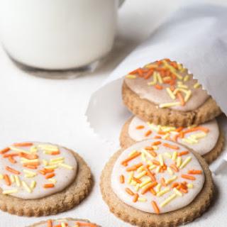 Gluten Free Pumpkin Spice Funfetti Cookies.