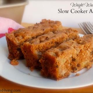 Slow Cooker Apple Cake.