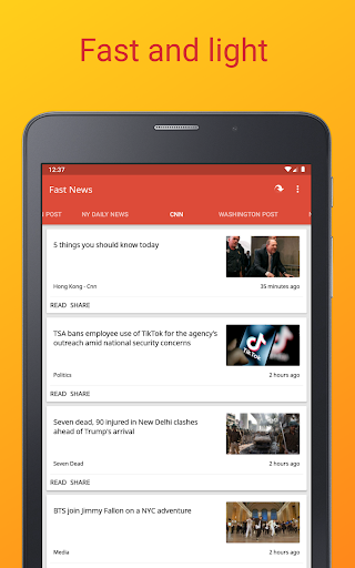 Fast News 3.5.5 Screenshots 21