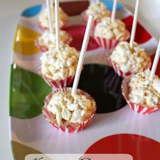 Making Mini Popcorn Lollipops and Pillow Forts for Pop Secret Family Fun