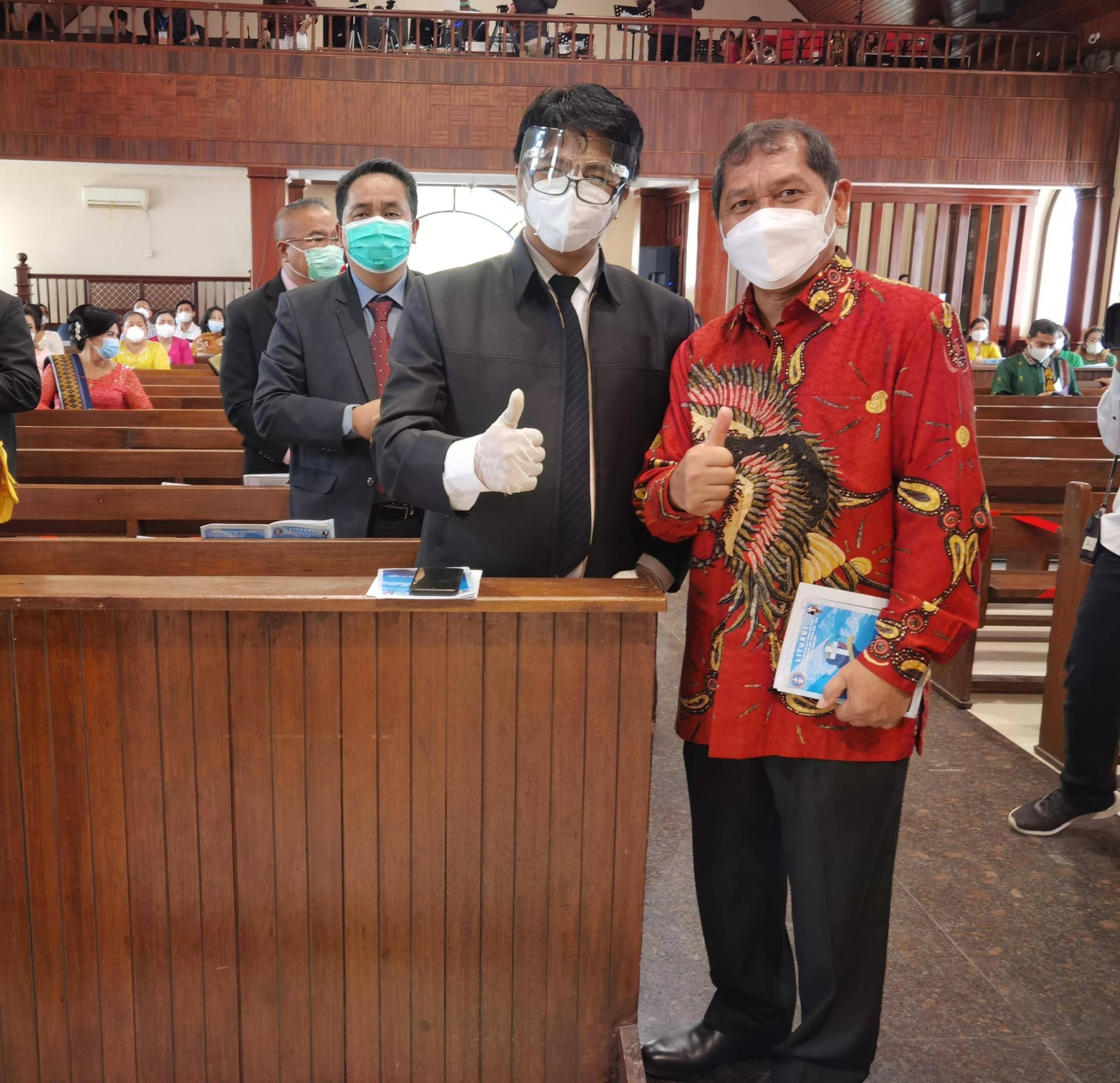 Terharu, Gubsu Edy Rahmayadi Dan Bupati Karo Sampaikan Pesan Dan Kesan Di Acara Pelantikan Pengurus Moderamen GBKP Periode 2020-2025
