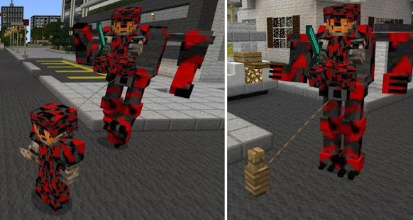Mech Suit for Minecraft PE - náhled