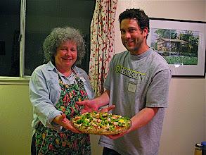 Photo: eggplant salad team