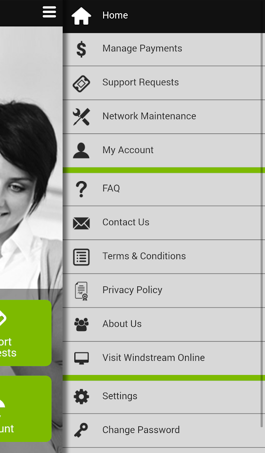 Windstream Online Mobile- screenshot