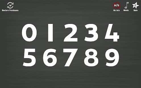 Trace Numbers • Kindergarten Kids Learning 123s- screenshot thumbnail